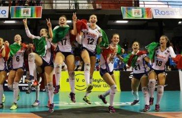 Сборная Италии выиграла чемпионат мира U-18 женский волейбол, чемпионат мира 2017 ю18, сборная италии, доминиканы, россии, турции
