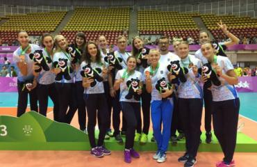 Україна здобула 36 нагород на Всесвітній Універсіаді-2017 всемирная универсиада, медальній зачет, общее количество медалей, награды, бронза женская сборная украины