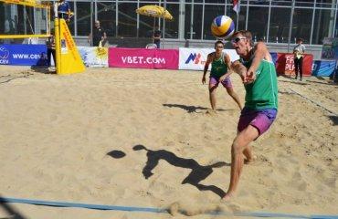 Ємельянчик та Денисенко стали четвертими на EEVZA у Вірменії пляжний волейбол, чоловіки, ємельянчик денисенко, журавель, гордєев, результати, євза, вірменія, єреван, фото