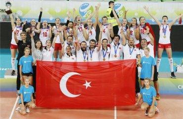 Сборная Турции стала победителем чемпионата мира U-23 женский волейбол, ю 23, сборная турции, результаты, фото, словения, болгария