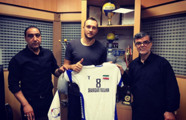 Украинский доигровщик Андрей Куцмус продолжит карьеру в Иране мужской волейбол, длигровщик андрей куцмус, мужская сборная украины, иранский клуб варамин, трансфер
