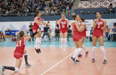 Определились все полуфиналисты чемпионата Европы-2017 женский волейбол, чемпионат европы 2017, полуфиналы, участники полуфинальных матчей