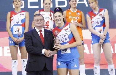 Тияна Бошкович - MVP чемпионата Европы-2017 (ВИДЕО) женский волейбол, чемпионат европы-2017, женская сборная сербии, тияна бошкович, видео, результаты, фото
