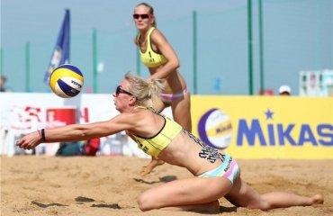 Украинские пляжницы Давидова\Щипкова заняли 5 место на Мировом туре в Китае (ФОТО) пляжный волейбол, валентина давидова и евгения щипкова, расписание, результаты, трансляции мировой тур китай, 3 звезды