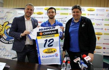 Украинский связующий Дмитрий Долгополов стал новичком польской команды мужской волейбол, дмитрий долгополов, плюс-лига, чарни радом, укрианский волейболист,связующий,