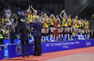 Результаты жеребьёвки группового этапа женской Лиги чемпионов 2017/18 женский волейбол, лига чемпионов 2017\18, жеребьёвка, групповой этап, москва, соперники