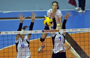 Жіноча збірна України перемогла Латвію у матчі чемпіонату EEVZA-2017 женский волейбол, сєвза, ю 17 жіноча збірна україни, перемога над латвією, результати матчу