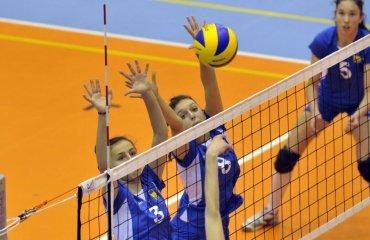 Збірна України U-17 здобула третю перемогу поспіль на чемпіонаті EEVZA-2017 женский волейбол, євза перемога над збірною грузії, ю17