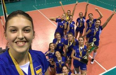 """Анна ШУМЕЙКО: """"Наша команда стала сильнішою і впевненішою!"""" женский волейбол, евза, сєвза, анна шумейко, капітан жіноча збірна україни ю17, інтервью"""