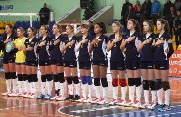 Жіноча збірна України U-17 вийшла у фінальну частину чемпіонату Європи-2018 мужской волейбол, женский волейбол, квалификація чє-2018, u-17, u 18 збірні україни, юнаки дівчата, черкаси