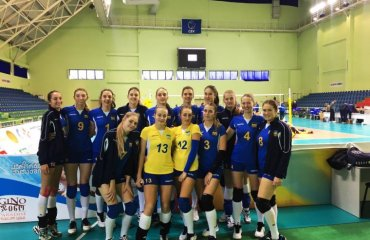 Жіноча збірна України U-19 виграла перший матч кваліфікації ЧЄ-2018 женский волейбол, чемпионат европи, жіноча збірна україни ю 19, результати. відео статистика матчу, перемога над швецією