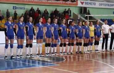 ЧЄ-2018 (Дівчата U-19). Кваліфікація. Тріумфальна крапка України женский волейбол, жіночий волейбол, жіноча збірна україни ю19, кваліфікація чемпіонату європи-2018, фото, результати