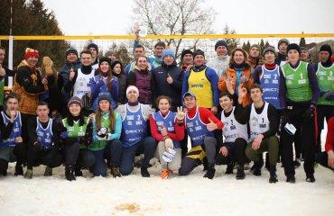 """Валерій САМОДАЙ: """"Олімпійські перспективи волейболу на снігу очевидні"""" волейбол на снігу, чемпіонат україни з волейболу на снігу, переможці, валерій самодай інтервью, підсумки, фву"""