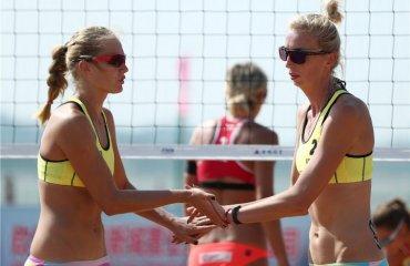Українські пляжниці перемогли у першому матчі кваліфікації Fort Lauderdale Major-2018 пляжний волейбол, валентина давідова та євгенія щіпкова, Fort Lauderdale Major-2018, кваліфікація перша перемога, китай, японія