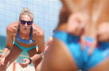 Давидова\Щипкова выиграли первый матч группового этапа Fort Lauderdale Major-2018 пляжный волейбол, валентина давидова и евгения щипкова, мировой тур-2018, форт лодердейл, основная сетка, бразилия,сша, германия