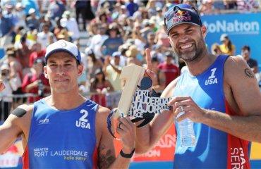 Американцы Люсена и Дальхаузер выиграли этап Мирового тура в США пляжный волейбол, США Мировой тур 5*, Fort Lauderdale Major-2018, результаты фил дальхаузер ник люсена, николаи лупо паоло даниэле