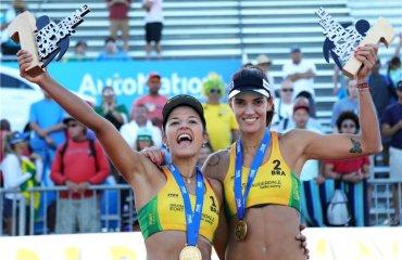 Бразильянки Барбара и Фернанда стали победительницами Fort Lauderdale Major-2018 пляжный волейбол, США Мировой тур 5*, Fort Lauderdale Major-2018, барбара фернанда бразилия, саммер росс, брук росс, сша, таяна лима, карол орта