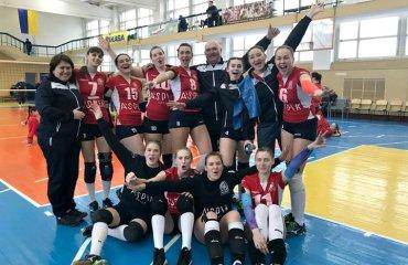 """Вища ліга (жінки). """"Фінал чотирьох"""". 1-й тур. """"Новатор"""" за крок від Суперліги женский волейбол, жіночий волейбол, вища ліга україни 2017\17 фінал чотирьох, новатор хмельницький"""