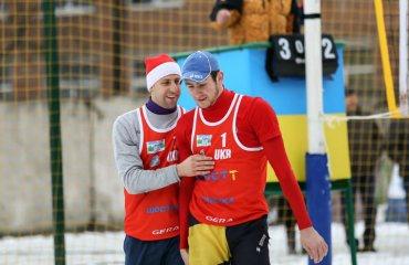Дідух\Гольонко завершили боротьбу на чемпіонаті Європи з волейболу на снігу волейбол на снегу, волейбол на снігу, віталій дідух андрій гольонко, результати, груповий етап, чемпіонат європи-2018, австрія, українські волейболісти