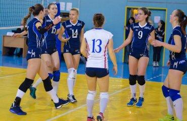 Дебютант у Суперлізі не прижився женский волейбол, жіночий волейбол, фаворит суперліга вища ліга, сєвєвродончанка, результати матчів 5-8 місце