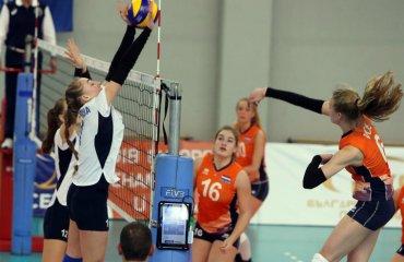 ЧЄ-2018. Дівчата (U-17). 3-й тур. Поразка від нідерландок женский волейбол, жіночий волейбол, чемпіонат європи-2018, ю17, збірна україни