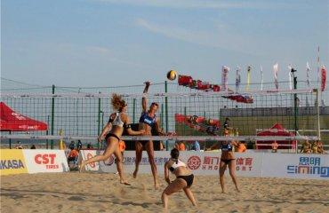 Українські пляжники не змогли потрапити до основної сітки Xiamen Open 4* пялжний волейбол, турнір китаї, валентина давідова та євгенія щіпкова, результати матчів, розклад трансляції, попов денін денисенко ємельянчик