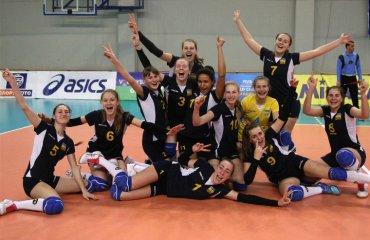 ЧЄ-2018. Дівчата (U-17). Фінішували на мажорній ноті женский волейбол, жіночий волейбол, чемпіонат європи-2018, ю17 дівчата, збірна україни ю 17, результати матчів