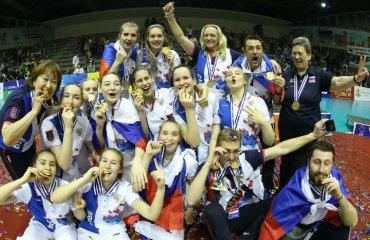 Россиянки выиграли чемпионат Европы U-17 женский волейбол, чемпионат европы ю17, сборная украины, сборная россии, сборная италии. ю 17, результаты