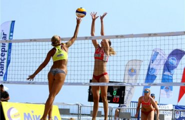 Давідова\Щіпкова вийшли в плей-офф Світового туру 3* пляжний волейбол, світовий тур 3*, туреччина мерсі, валентина давідова євгенія щіпкова, груповий етап, перемогли