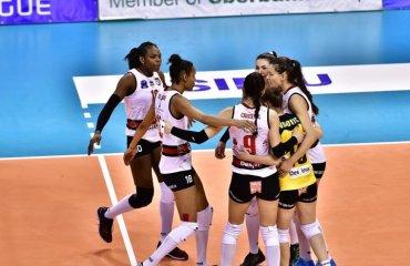 """""""Альба Блаж"""" та """"Конельяно"""" запрошують на """"Фінал чотирьох"""" (ВІДЕО) женский волейбол, жіночий волейбол, ліга чемпіонів, фінал чотирьох 2018, відео запрошення альба блаж румунія, конельяно італія"""