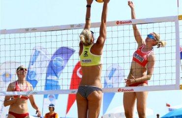 Давидова и Щипкова сыграют против пары из Таиланда пляжный волейбол, давидова и щипкова, мировой тур турция, мерсин, распсиание, результаты, соперники из таиланда