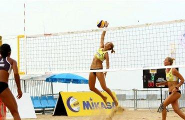 Давидова и Щипкова вышли в 1\4 финала Мирового тура 3* пляжный волейбол, давидова\щипкова, мировой тур, мерсин турция, плей-офф основная сетка, победа над командой из таиланда