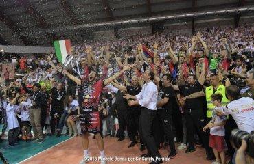 """""""Перуджа"""" впервые в истории стала чемпионом Италии мужской волейбол. чемпионат италии серия а1, перуджа, лубе чивитанова"""