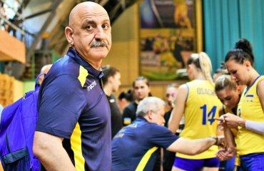 """Гарій ЄГІАЗАРОВ: """"Порадував настрій дівчат за рахунку 0:2"""" жіночий волейбол, збірна україни, інтервью, гарій єгіазаров, турнір в івано-франківську, золота ліга"""