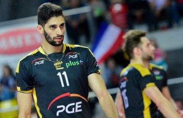 """""""Скра"""" продлила контракт с иранским нападающим мужской волейбол, милад эбадипур, иран, нападающий, скра, польша, плюс-лига, трансфер"""