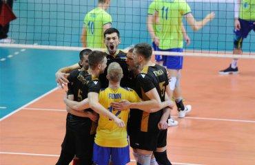 """Українці втратили шанси потрапити до """"Фіналу чотирьох"""" чоловічий волейбол, золота ліга-2018, україна - словенія, результати"""