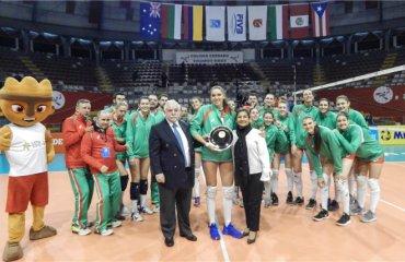Жіноча збірна Болгарії здобула право виступати у Лізі націй-2019 жіночий волейбол, ліга націй-2019, золота євроліга-2018, збірна болгарії, кубок претендентів
