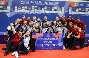 Жіноча збірна США стала переможцем Ліги націй-2018 жіночий волейбол, ліга націй-2018, сша, туреччина, китай, результати фіналу шести