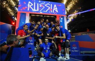 Збірна Росії – перший в історії переможець Ліги Націй чоловічий волейбол, росія, ліга націй-2018, результати, фінал, франція