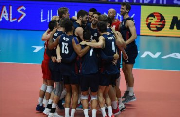 Збірна США стала бронзовим призером Ліги націй-2018 чоловічий волейбол, ліга націй-2018, бронза, збірна сша, результати, фото