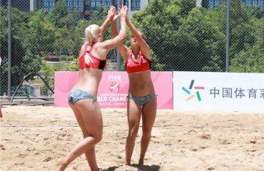 Українки Дашевська та Рилова посіли 9 місце на чемпіонаті світу U-19 пляжний волейбол, нанкін китай, чемпіонат світу ю19, катерина дашевська, софія рилова