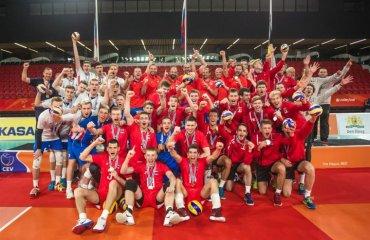 Збірна Росії виграла чемпіонат Європи U-20 чоловічий волейбол, чемпіонат європи-2018, ю20, збірні росії, бельгії, чехії, результати