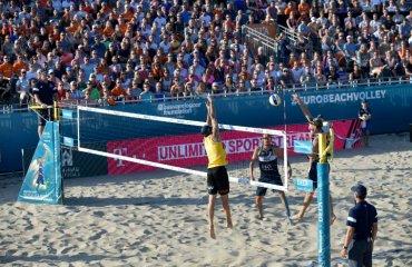 Чемпіонат Європи з пляжного волейболу 2019 відбудеться у Москві пляжний волейбол, чемпіонат європи-2019, москва, росія, фінал, єкв