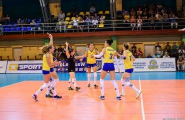 Жіноча збірна України зіграла з командою Грузії жіночий волейбол, чемпіонат європи-2019, жіноча збірна україни 2018, підготовка, відбірковий турнір