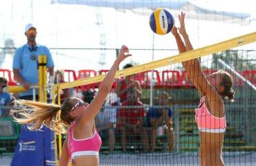 Сестри Махно вийшли в чвертьфінал Сателліт Шіофок-2018 пляжний волейбол, ірина та інна махно, результати, чвертьфінал сателліт шіофок угорщина. трансляції матчів