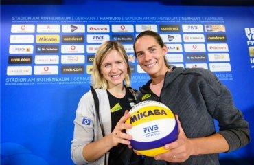 """Лаура ЛЮДВИГ: """"Я планирую вернуться в феврале"""" пляжный волейбол, лаура людвиг, кира валькенхорст, интервью"""