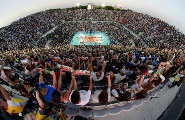 Чемпіонат Світу-2018 стартував матчем на відкритому повітрі (ФОТО) чоловічий волейбол, чемпіонат світу-2018, стартові матчі