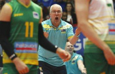 Тренер сборной Австралии ведёт блог: на игроков нельзя кричать, а речи должны быть короткими мужской волейбол, чемпионат мира-2018, марк лебедев, блог, тренер сборной австралии