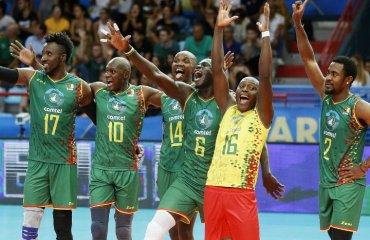 Запальні танці камерунців або як потрібно святкувати перемогу (ВІДЕО) чоловічий волейбол, чемпіонат світу-2018, камерун, танці, відео