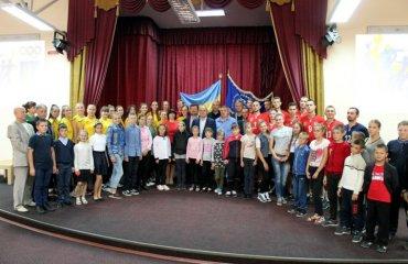 У Житомирі презентували два волейбольні клуби (ФОТО) чоловічий волейбол, жіночий волейбол, житомир, житичі, полісся, вища ліга україни, презентація клубу